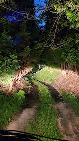 20200604ラベンダーの畑へ続く急な坂道を下る