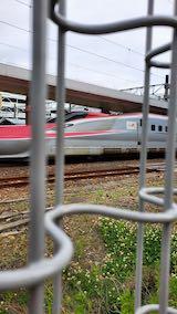 20200607JR秋田駅新幹線ホームこまち号