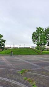 20200705速歩へ向かった公園内と南西の空