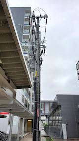 20200705速歩途中JR秋田駅東口へ向かう通路から望んだ北の空