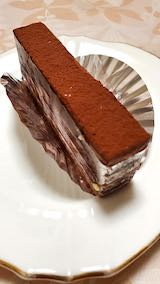 20200706デザートチョコケーキ
