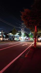 20200709東大通り夜間の電気工事2