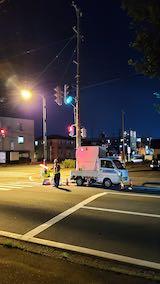 20200709東大通り夜間の電気工事3
