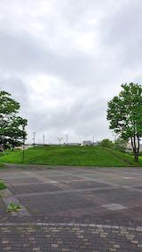20200713速歩へ向かった公園内と南西の空