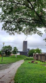 20200723速歩途中の公園内と北の空