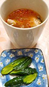 20200723晩ご飯鶏手羽先とキムチのスープ