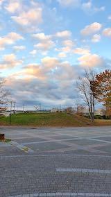 20201113速歩へ向かった公園内と南西の空