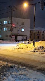 20210116外の様子夕方雪が降り出す3