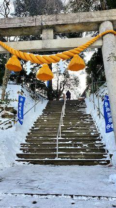 20210131三吉神社へ参拝1