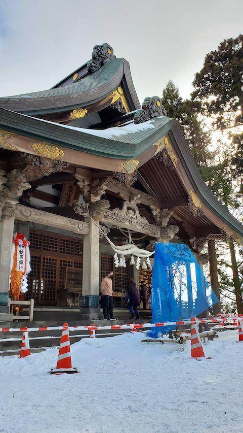 20210131三吉神社へ参拝3