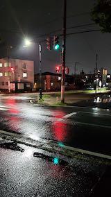 20210824外の様子夕方雨降り