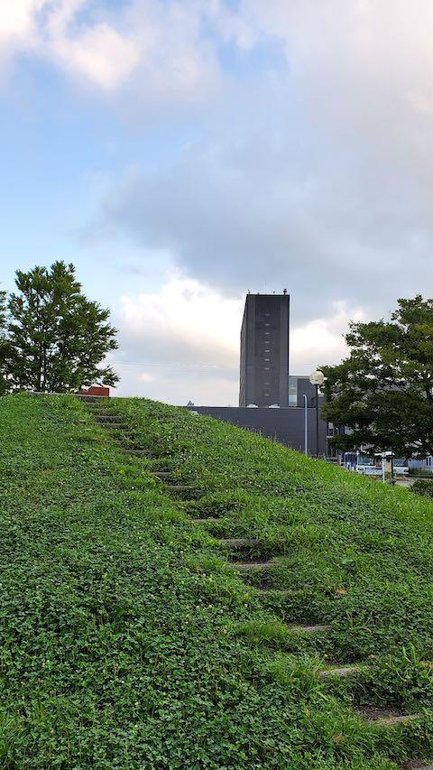 20210829速歩途中の公園内にある高台