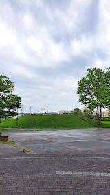 20210830速歩へ向かった公園内と南西の空