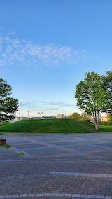 20210906速歩へ向かった公園内から望んだ南西の空