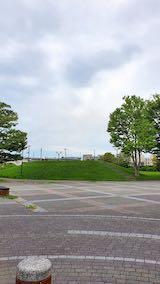 20210908速歩へ向かった公園内と南西の空