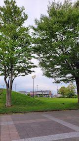 20210908速歩途中の公園内と南の空