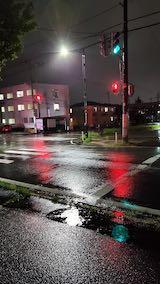 20210908外の様子夜のはじめ頃本格的な雨