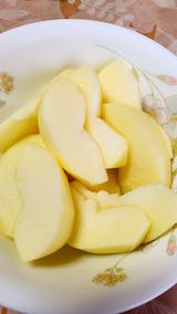 20210911デザートリンゴ