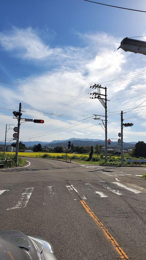 20210913会津美里町から望む明神ケ岳