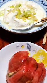 20210915晩ご飯トマト