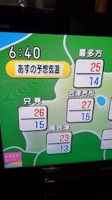 20210916NHKテレビ明日の予想気温
