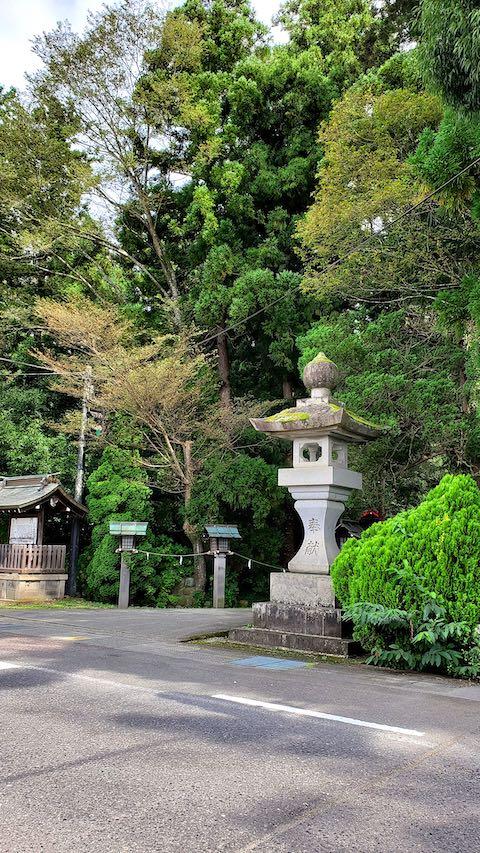 20210917会津を出発伊佐須美神社前2